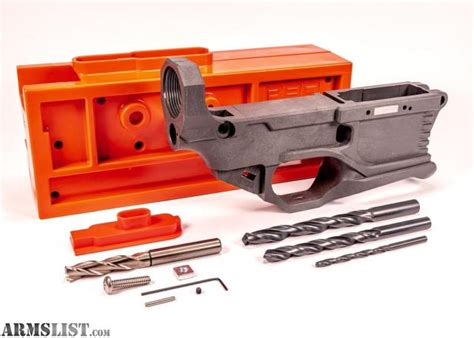 Milling 80 Polymer Lower Receiver