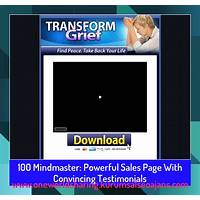 Mindmaster: powerful sales page with convincing testimonials comparison