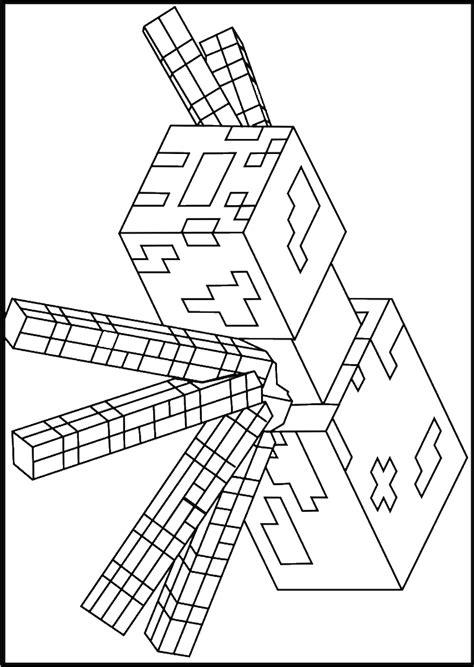 Minecraft Malvorlagen Ausdrucken