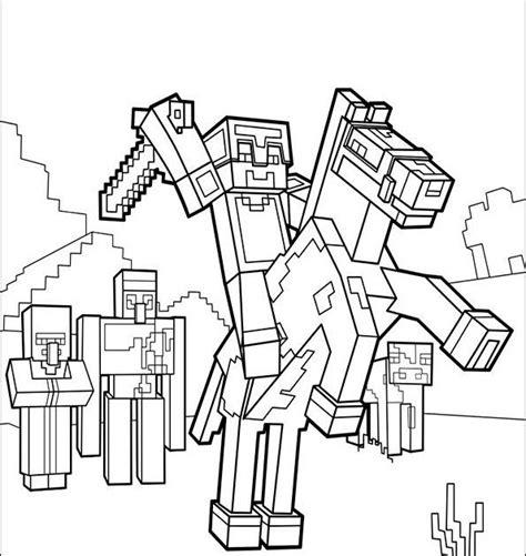 Minecraft Malvorlagen Pc