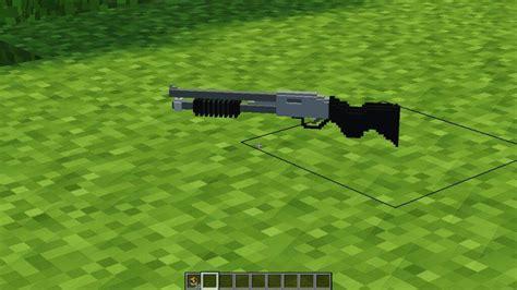 Minecraft Shotgun Mod