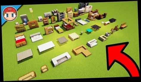 Minecraft how to make furniture no mods Image
