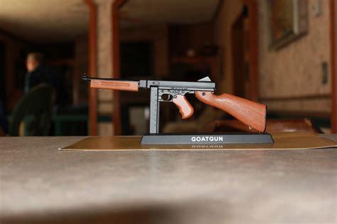 Miniature Army Tommy Gun