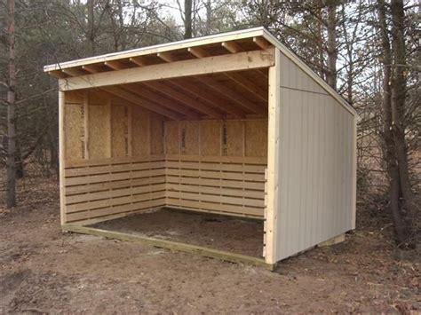 Miniature Horse Shelter Plans