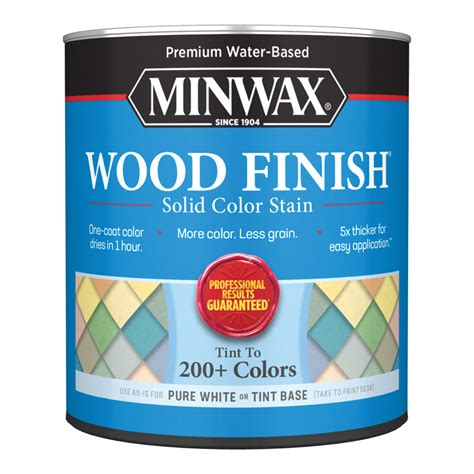 minwax water based stain Image
