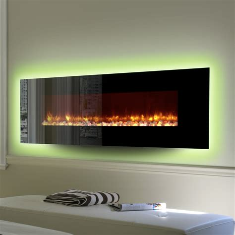 Mirabel Wall Mounted Electric Fireplace Insert