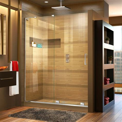 Mirage-X 60 x 72 Single Sliding Frameless Shower Door with Clearmax™ Technology