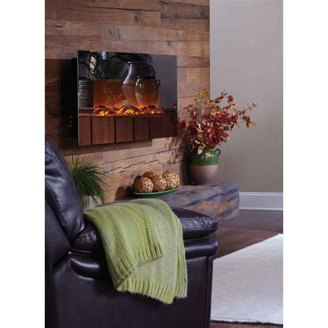Mirror Onyx™ Wall Mounted Electric Fireplace