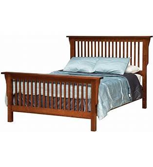 Mission King Bed Plans