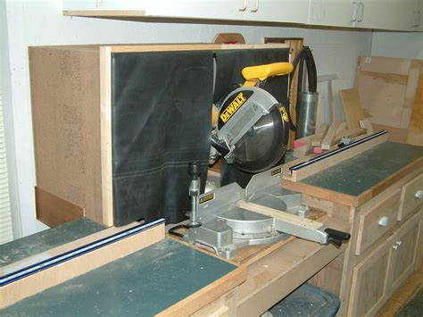 Miter saw dust collection hood Image