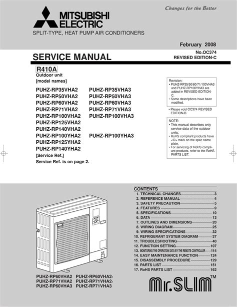 mitsubishi electric service manual pdf manual