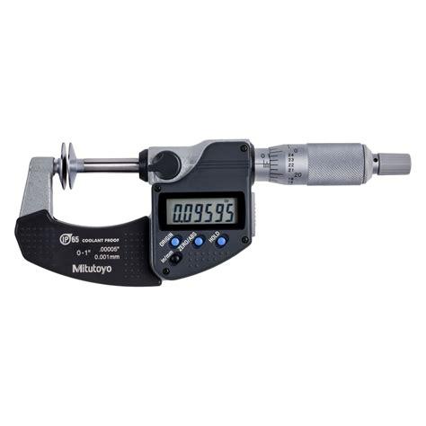 Mitutoyo Disk Micrometer