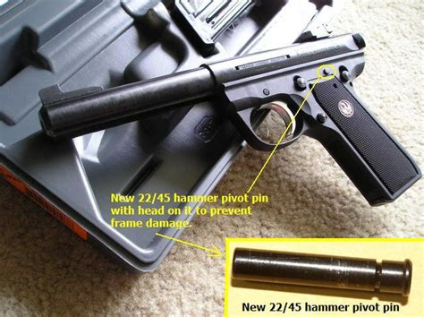 Mk Iii 22 45 Hammer Pivot Pin Issue Ruger Forum