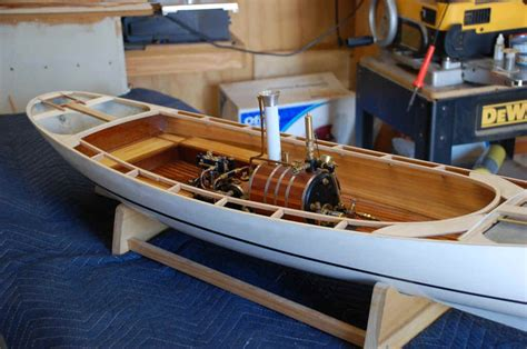 model steam boats plans