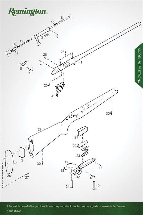 Model 700 Centerfire Rifles Remington Oem Parts