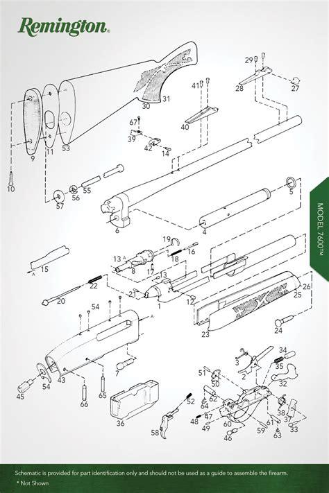 Model 7600 Centerfire Rifles Remington Oem Parts