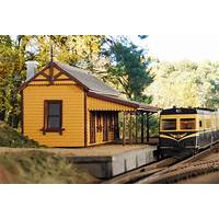 Model buildings for model railroads and trains promotional code