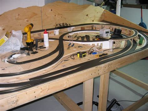 Model Train Table Design Plans
