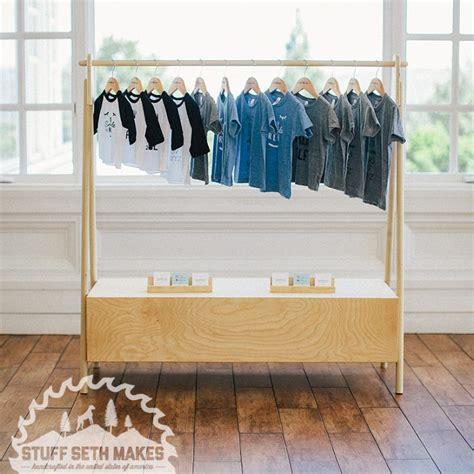 Modern Brach Clothing Rack