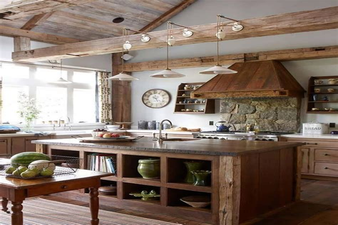 Modern Cottage Kitchen Design