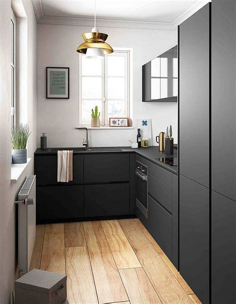 Modern Kitchen For Small Apartment
