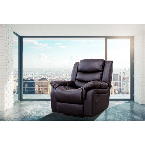 Modern Style Faux Leather Heated Massage Chair