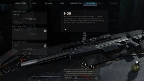 Modern Warfare Sniper Rifles