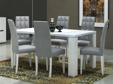 Modern White Kitchen Tables