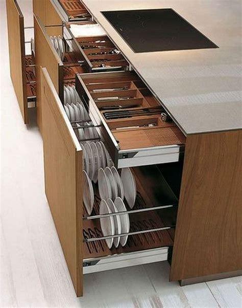 Modern kitchen designs with smart storage ideas Image