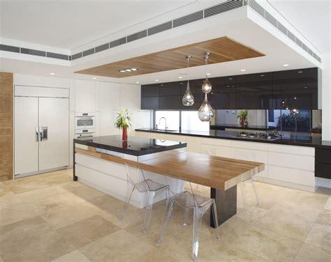 Modern kitchen island bench designs Image