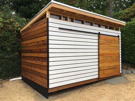 Modern shed design plans Image