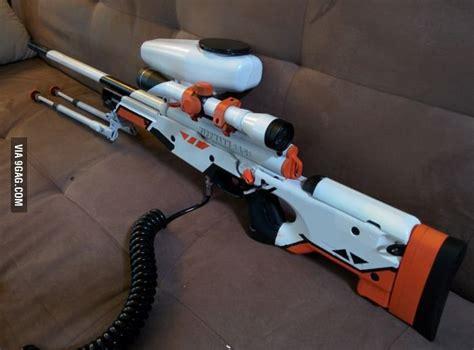 Modified Paintball Gun For Self Defense