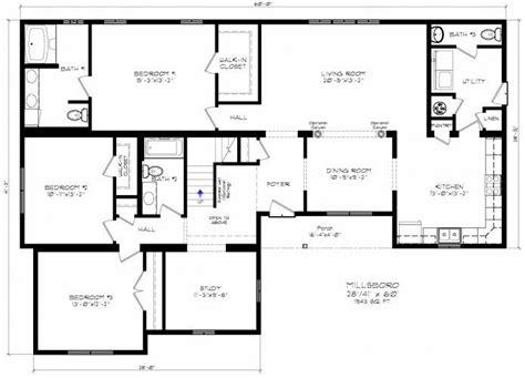 Modular home floor plans delaware Image