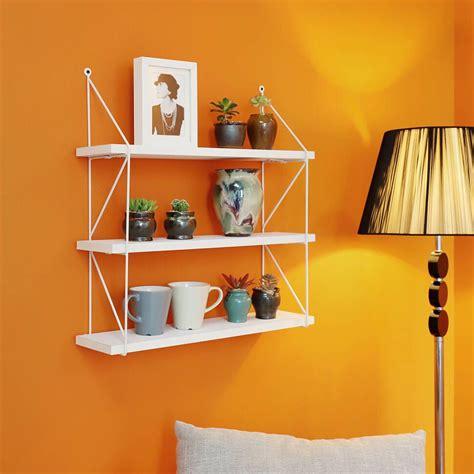Molena 3-Tier Display Wall Accent Shelf