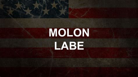 Main-Keyword Molon Labe Pronunciation.