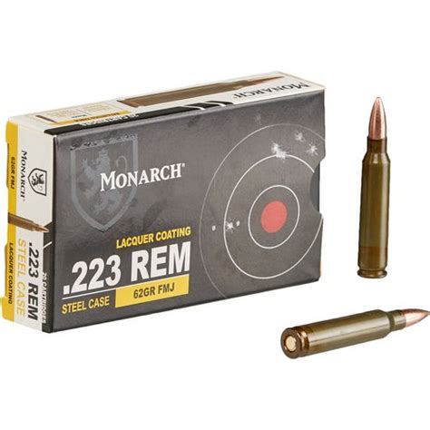 Monarch 223 Brass Ammo Review