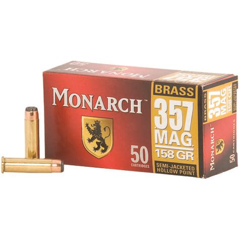Monarch 357 Mag Ammo Review