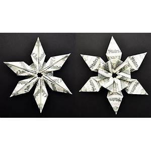 Money origami christmas video tutorials scam