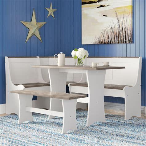 Monroe 3 Piece Nook Dining Set