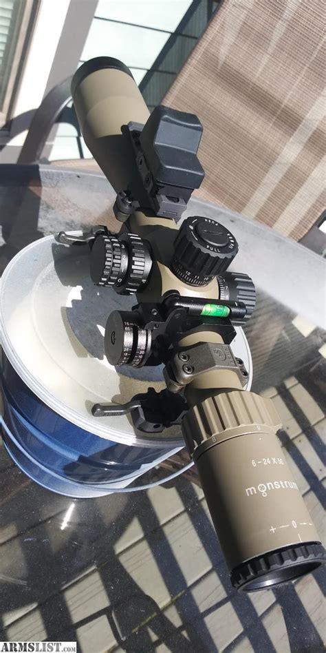 Monstrum 6-24x50 Rifle Scope