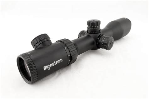 Monstrum Tactical 3 12x42 Ao Rifle Scope Review