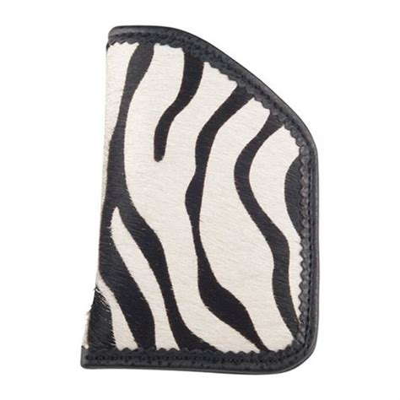 Moonstruck Leather Diva Sleeves Bw Zebra Diva Sleeve Holster Revolver