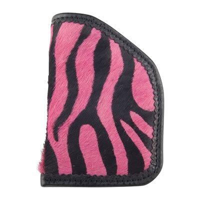 Moonstruck Leather Diva Sleeves Hot Pink Zebra Diva Sleeve Holster Revolver