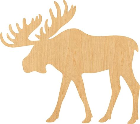 Moose cut out Image