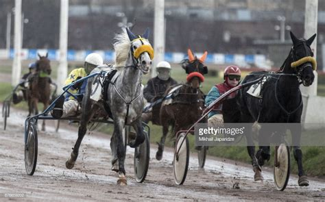 Moscow Hippodrome Horse Racing