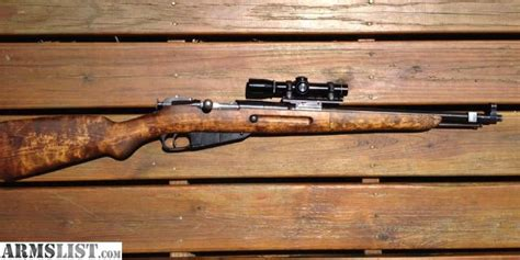 Mosin Nagant M44 With Scout Scope