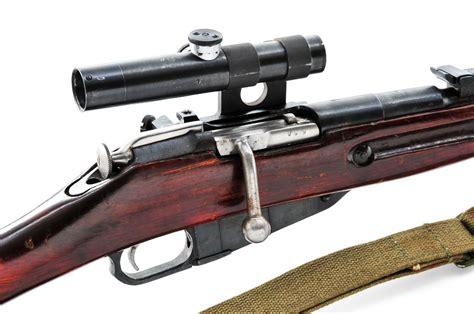 Mosin Nagant Model 91 30 Sniper Rifle