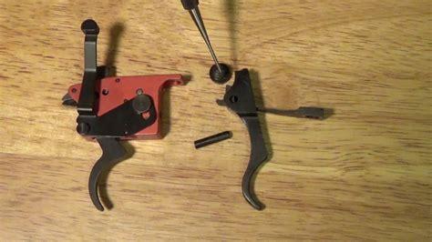 Mosin Nagant Timney Trigger Install