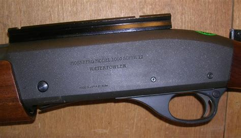 Mossberg 1000 Super Waterfowler