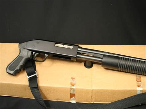 Mossberg 410 Pump Shotgun Pistol Grip